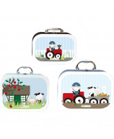 3 pack suitcases - Farm