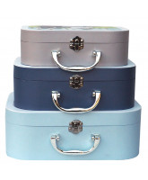 3 pack suitcases - Fairytale