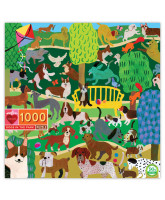 Puzzle 1000 pcs - Dogs in the Park