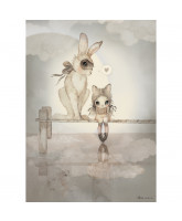 Hello Miss Julia poster - 50x70 cm