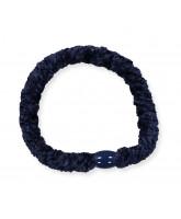 Kknekki velvet hair elastic - navy