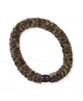 Kknekki velvet hair elastic - moss