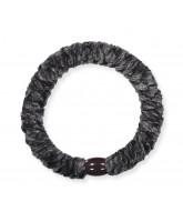 Kknekki velvet hair elastic - charcoal
