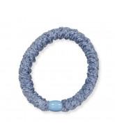 Kknekki velvet hair elastic - light blue