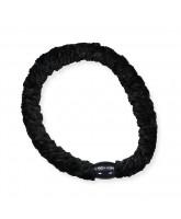 Kknekki velvet hair elastic - black