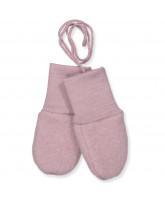 Organic wool fleece baby mittens