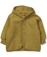Organic uld fleece jacket