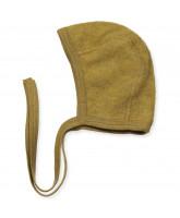 Organic wool fleece baby hat
