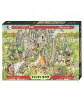 Jurassic Habitat puzzle - 1000 pcs