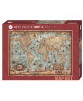 The World puzzle - 2000 pcs