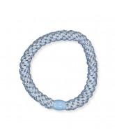 Kknekki hair elastic - light blue glitter