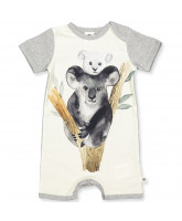 Organic Spicy koala summersuit