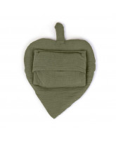 Comfy me baby pillow - leaf