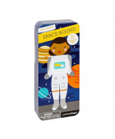 Mini magnetic dress-up - space