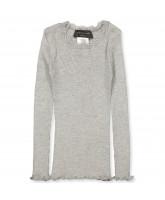 Light grey silk LS t-shirt