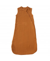 Brown sleeping bag