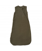 Army green sleeping bag