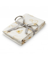 Organic 2 pack Inventions muslin cloths