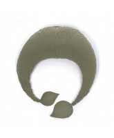 Organic green nursing pillow