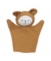 Organic hand puppet - Bear