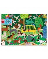 Puzzle 100 pcs - Dogs play
