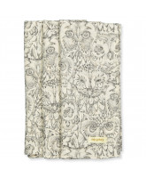 Organic 3 pack Owl muslin cloths