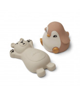 2 pack Knud bath toys