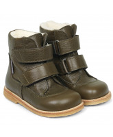 Olive tex winter boots