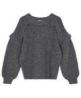 Silvia Panel wool sweater