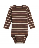 Organic brown bodysuit