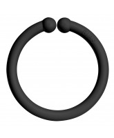 Bibs loop ring - Black