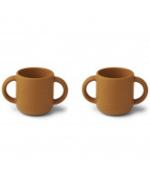 2 pack Gene silicone cups
