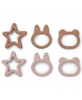 6 pack Andy cookie cutter
