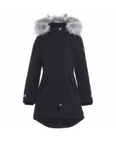 Peace winter jacket with fur