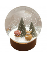 Snow Globe - Woodland Deer