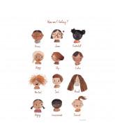 Poster - Emotions 50x70 cm
