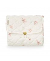 Organic windflower cream changig mat