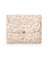 Organic caramel leaves changig mat