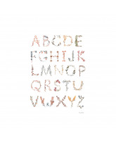 Poster - Alphabet A3