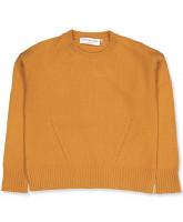 Golden yellow wool sweater