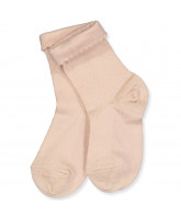 Rose dust wool socks