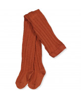 Bombay brown wool tights
