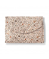 Organic autumn flower changing mat
