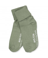 Light olive non-slip socks