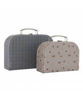 2 pack suitcases