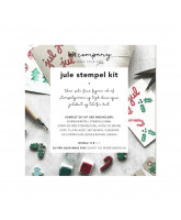 Christmas stamp DIY kit