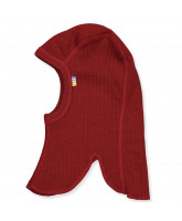 Red wool kids' balaclava
