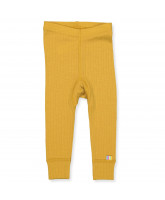 Yellow wool leggings