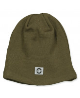 Military olive wool hat
