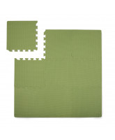 Dusty green foam play mat